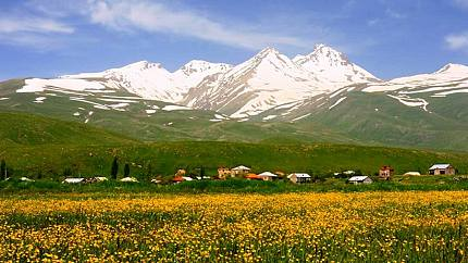 Aragats - the highest mountain in Armenia